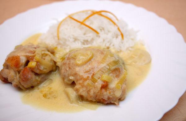 Цыпленок в соусе