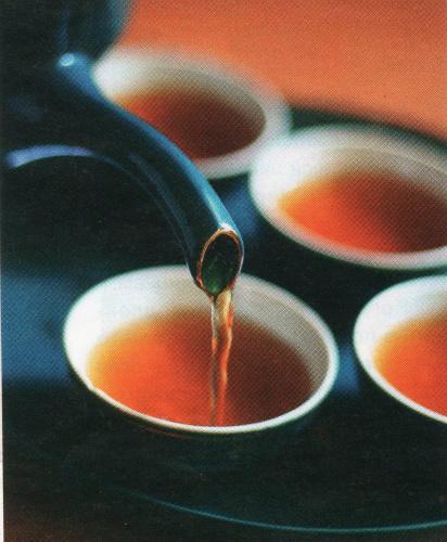 пряный чай