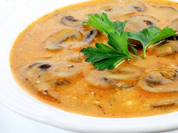 Отличный суп из грибов