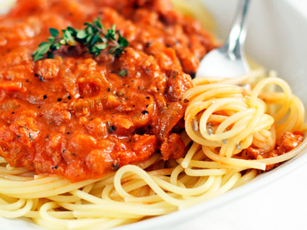 Spaghetti Bolognese the whole family will love