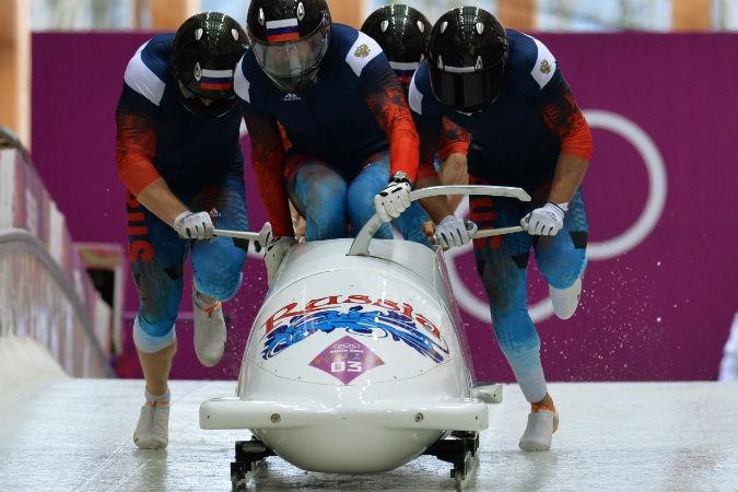 Российская четверка победителей