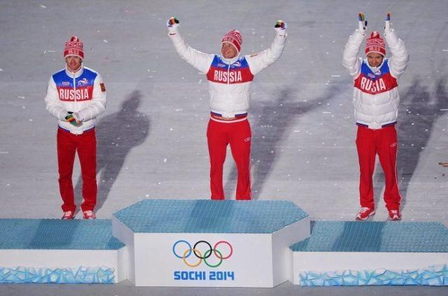 Российские спортсмены заняли все почетные места