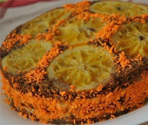 Как приготовить маковый торт с апельсинами