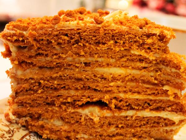 """Вкусный домашний торт """"Рыжик"""""""