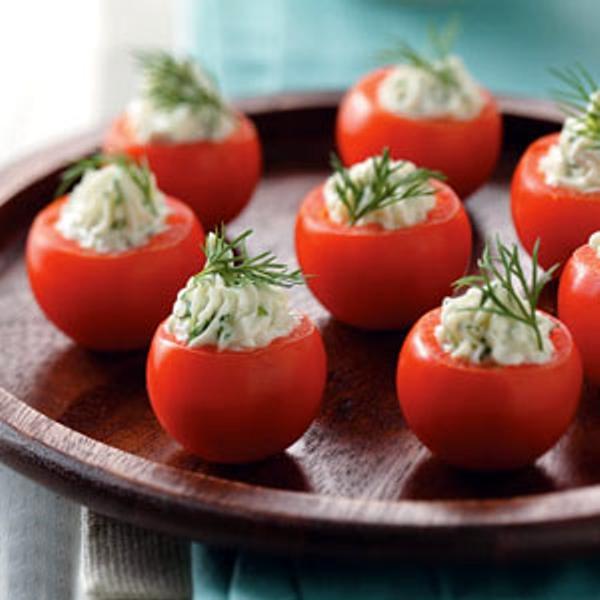 Фаршированные помидоры черри
