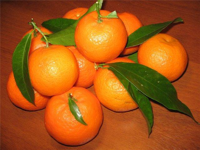 Несколько признаков спелого мандарина