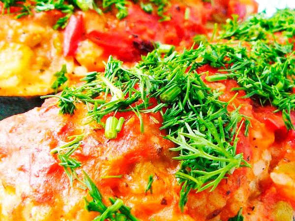 Кабачки, фаршированные мясом