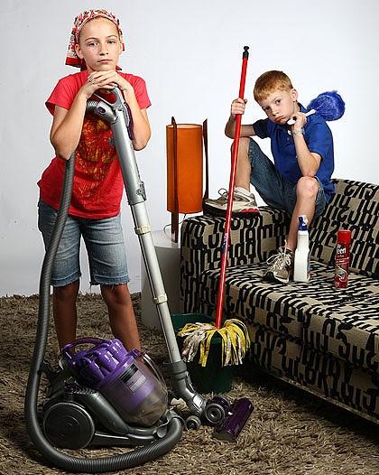 Домашние обязанности — график выполнения домашних дел
