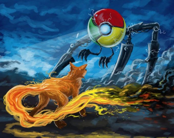 Почему Firefox хуже Google Chrome