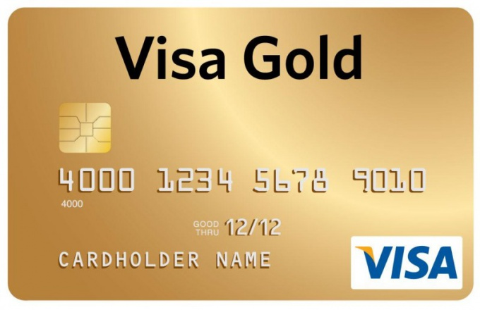 How to get a credit card of Sberbank visa gold