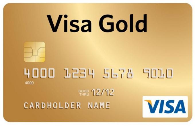 Как оформить карту Сбербанка visa gold