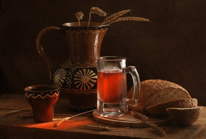 What kinds of kvass exist