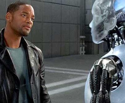 Кадр из фильма «Я робот»