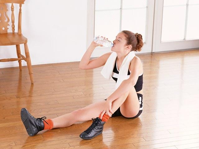 При занятиях спортом молодым мамам необходимо во всем соблюдать меру