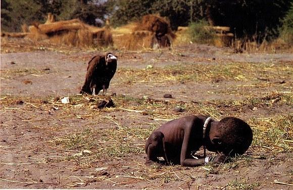 Голод в Судане - фото