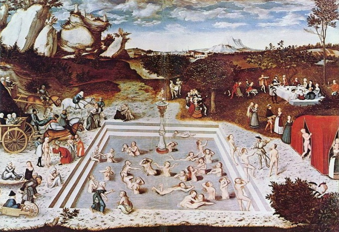 Lucas Cranach The Elder. The fountain of eternal youth