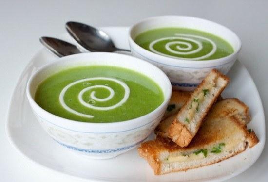 Как сварить суп с консервированным зеленым горошком