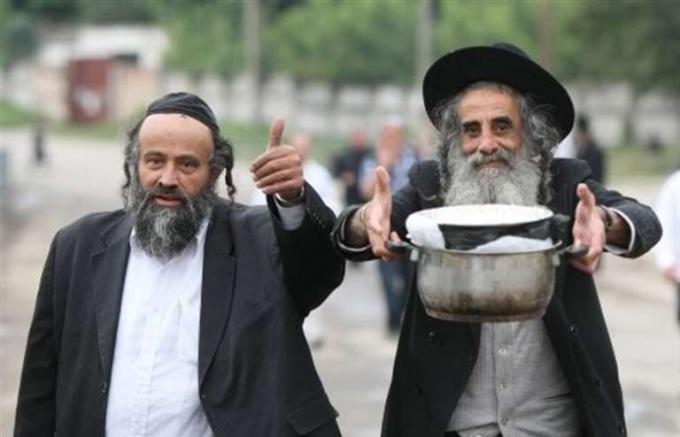 Hasidim in Uman