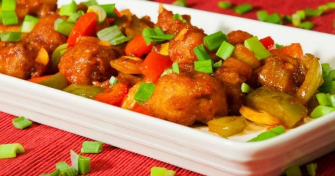 Как приготовить мясо в кисло-сладком соусе по-китайски