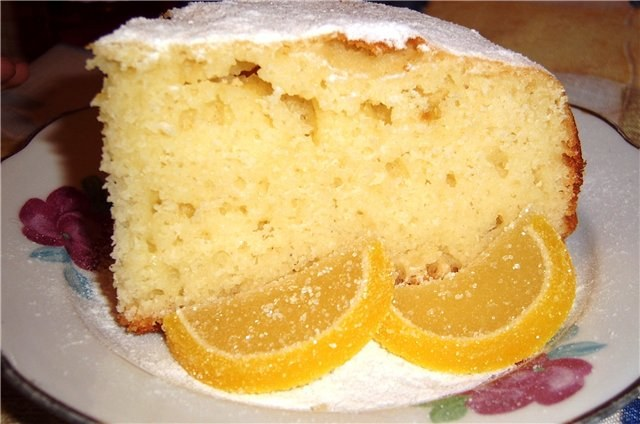 Рецепт манного торта