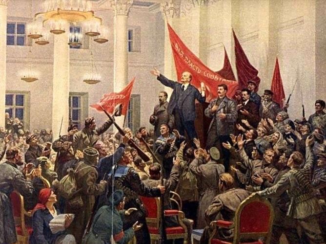 Победа Октября стала крахом для меньшевиков