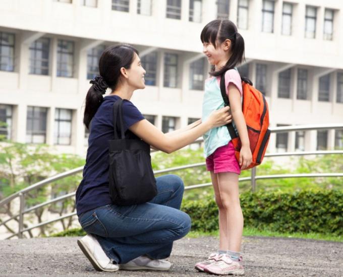 Очень важно быть рядом с ребенком