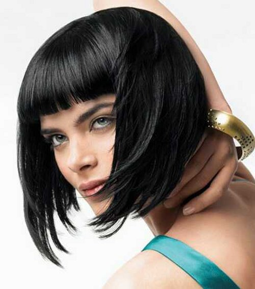 How to cut a Bob haircut angle