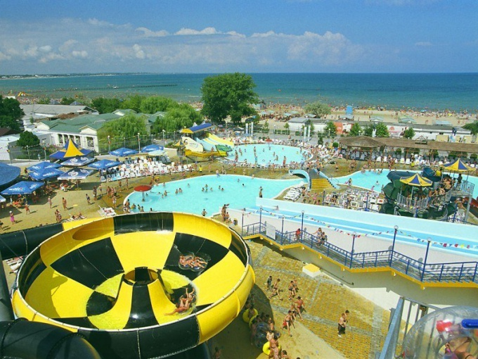 Where cheap to rest on the Black sea with children