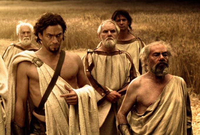 Спартанцы были сильными и выносливыми