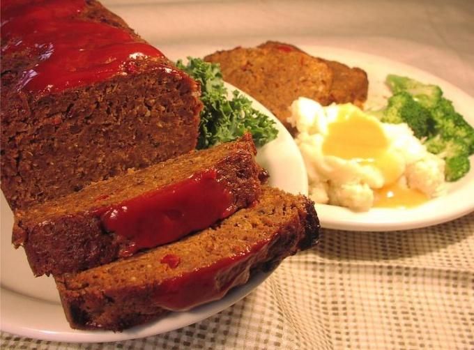 Что такое мясной хлеб