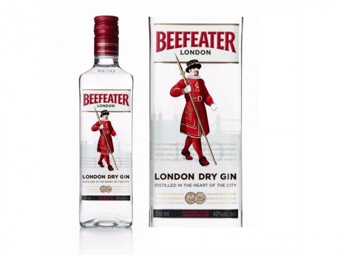 Gin premium Beefeater