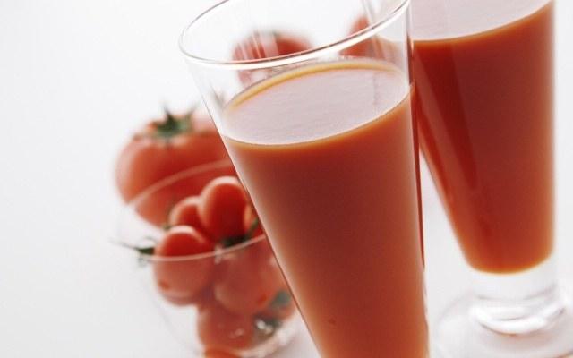What is the homogenized juice