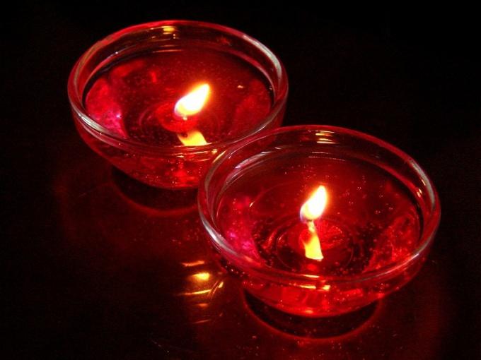 Как сделать гелевую свечку