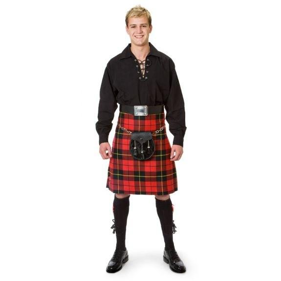 Как носить шотландскую юбку