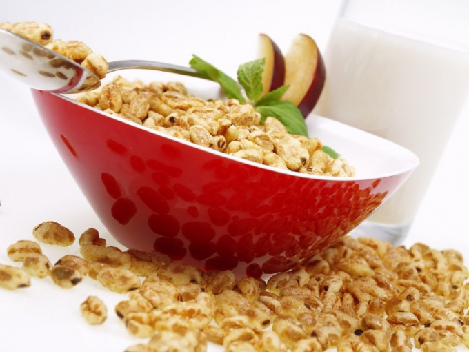 "Help to lose weight flakes ""Fitness"" Breakfast"