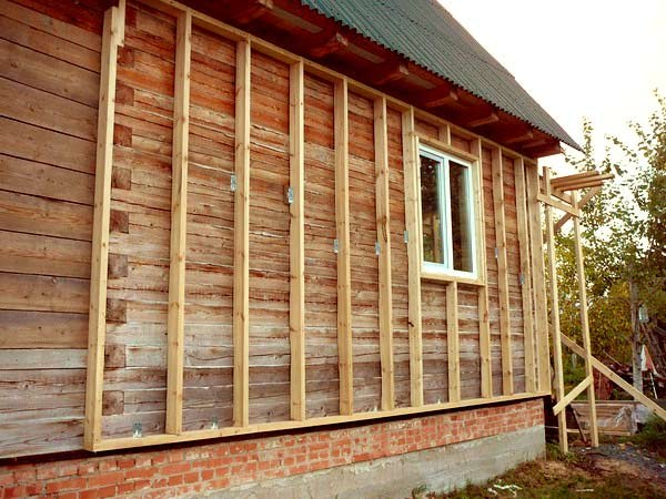How to make the sheathing under the siding
