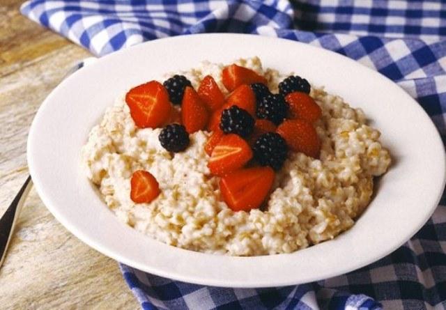 Useful porridge in the morning