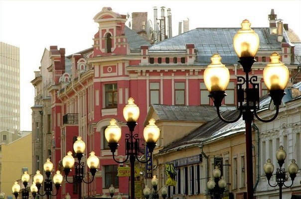 Arbat, the heart of Old Moscow.
