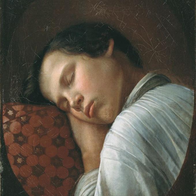 Н. Крылов. Спящий мальчик