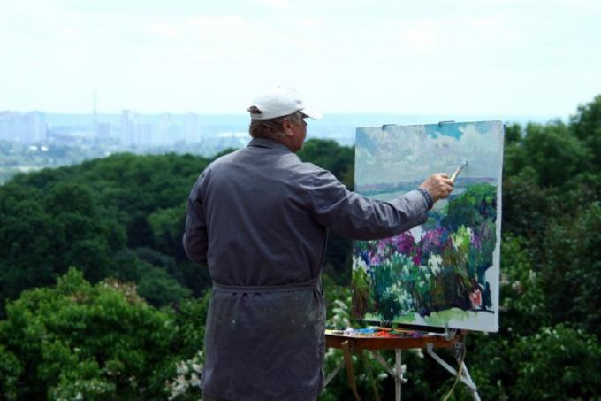 Какие бывают виды живописи