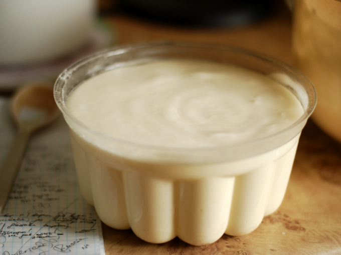 How to make cream with condensed milk