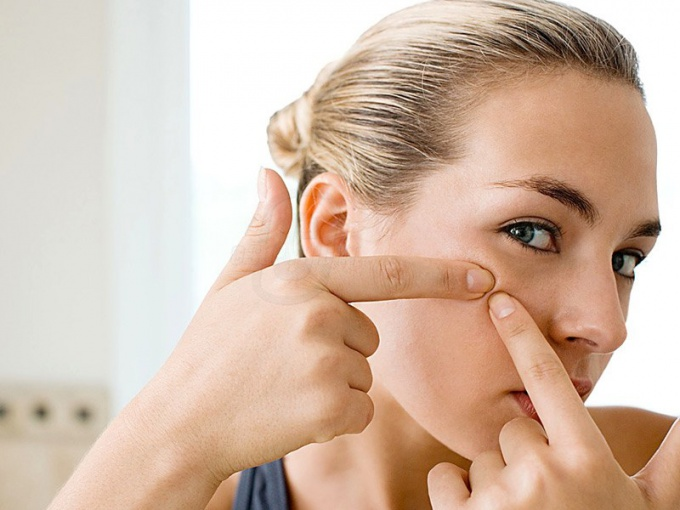 What to do if popped pimple