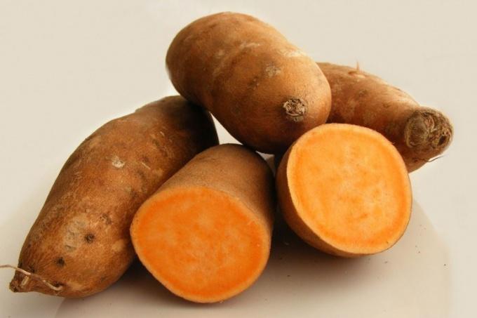 Что такое сладкий картофель