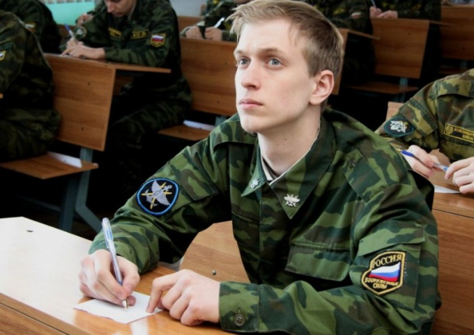 Admission to the University for yesterday's soldiers no less stress than serving in the army