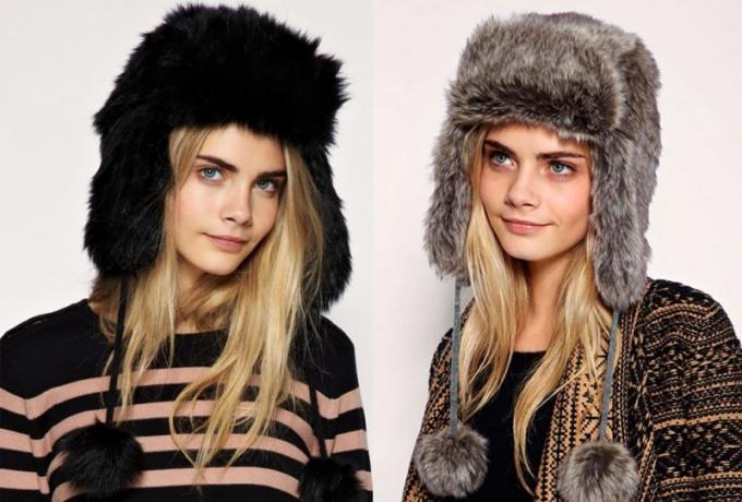 Как правильно носить шапку-ушанку