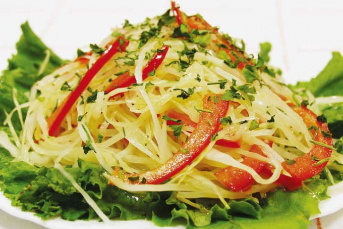 Recipe delicious spicy cabbage
