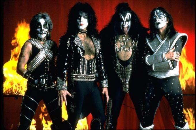 The band Kiss