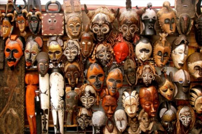 Что такое африканские маски