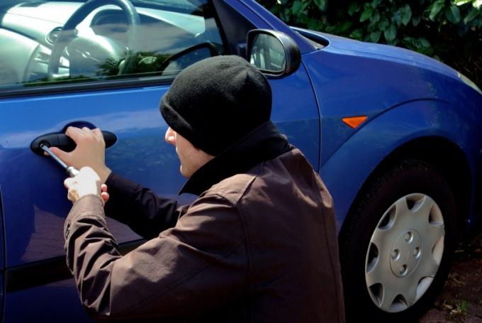 Что делать, если угнали машину