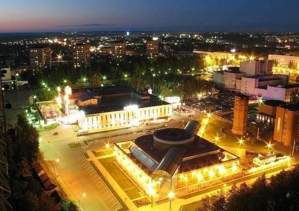 Ночной Ижевск